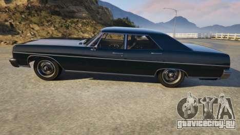 TLAD Regina Sedan для GTA 5 вид слева