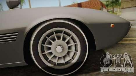 Maserati Ghibli v0.1 (Beta) для GTA San Andreas вид справа