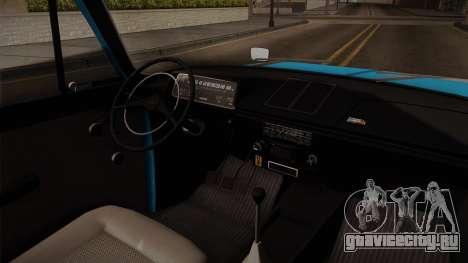 ИЖ 21251 для GTA San Andreas вид изнутри