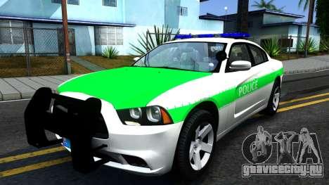 Dodge Charger German Police 2013 для GTA San Andreas