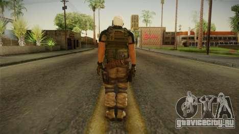 Resident Evil 6 - Chris Asia Bsaa для GTA San Andreas третий скриншот