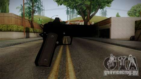 GTA 5 Heavy Pistol для GTA San Andreas третий скриншот