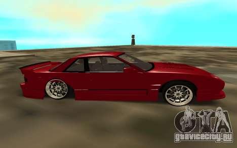 Nissan Onivea для GTA San Andreas вид слева