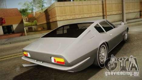 Maserati Ghibli v0.1 (Beta) для GTA San Andreas вид слева