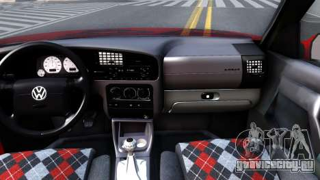 Volkswagen Golf Mk3 1997 для GTA San Andreas вид изнутри