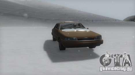 Primo Winter IVF для GTA San Andreas вид справа