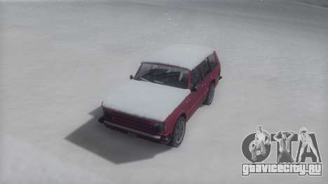 Huntley Winter IVF для GTA San Andreas вид справа