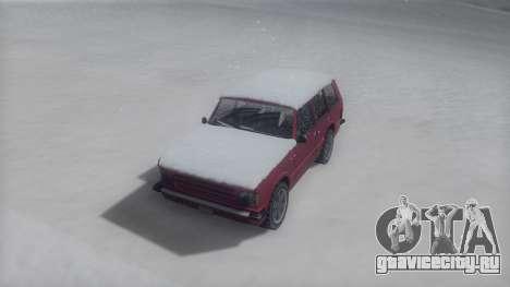 Huntley Winter IVF для GTA San Andreas вид справа