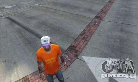 Кепка Charlotte Hornets для Тревора для GTA 5 второй скриншот