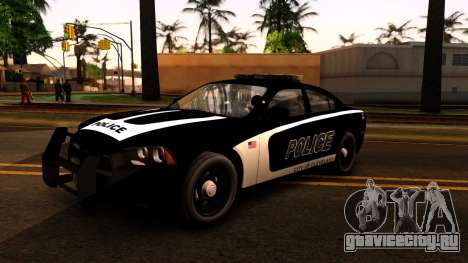 2014 Dodge Charger Cleveland TN Police для GTA San Andreas вид слева