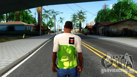 Design Camouflage T-Shirt для GTA San Andreas третий скриншот