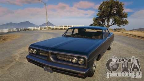 TLAD Regina Sedan для GTA 5