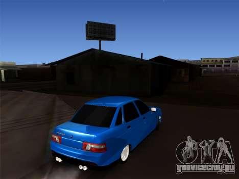 VAZ 2110 BPAN для GTA San Andreas вид справа