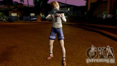 Resident Evil ORC - Sherry Birkin (YoungKid) для GTA San Andreas