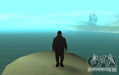 Winter Gangster для GTA San Andreas
