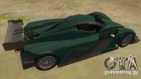 Praga R1 для GTA San Andreas вид справа