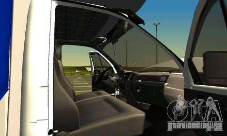 Газель 3302 для GTA San Andreas вид сверху