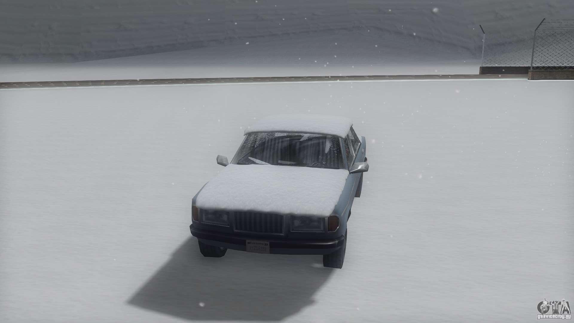 зимние машины для gta sa