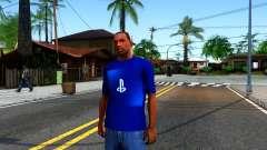 T-Shirt PS4 для GTA San Andreas