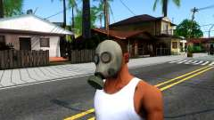 Gas Mask From Call of Duty Modern Warfare 2 для GTA San Andreas