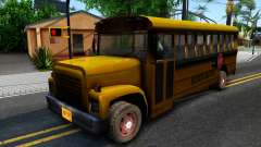 School Bus Driver Parallel Lines для GTA San Andreas