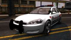 Chevy Impala Blueberry PD 2009 для GTA San Andreas
