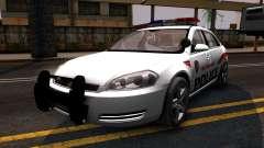 Chevy Impala Blueberry PD 2009 для GTA San Andreas