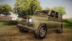 УАЗ-3151 CoD4 MW Remastered IVF для GTA San Andreas