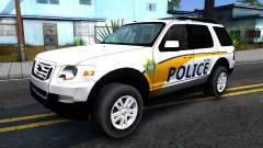 Ford Explorer Metro Police 2009