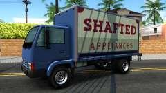 GTA IV Maibatsu Mule with GTA SA Ads для GTA San Andreas