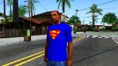 T-Shirt SuperMan для GTA San Andreas