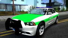 Dodge Charger German Police 2013 для GTA San Andreas