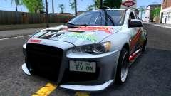 Ogasawara Haruka MITSUBISHI EVO X Itasha для GTA San Andreas