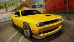 Dodge Challenger Hellcat 2015 для GTA San Andreas