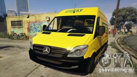 CORREIOS Sedex Mercedes Sprinter для GTA 5