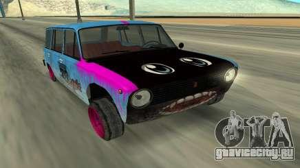 ВАЗ 2101 Зимний дрифтер для GTA San Andreas