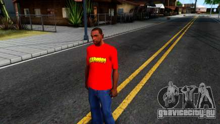 Hulk Hogan T-Shirt для GTA San Andreas
