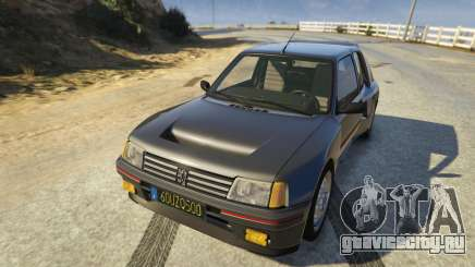 Peugeot 205 Rally для GTA 5