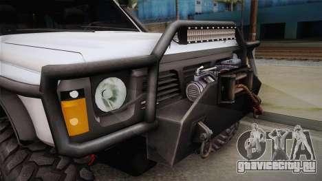 Nissan Safari Y60 Off-Road для GTA San Andreas вид сзади слева