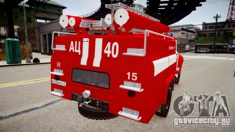 ЗиЛ 130 AЦ 40 для GTA 4 вид справа