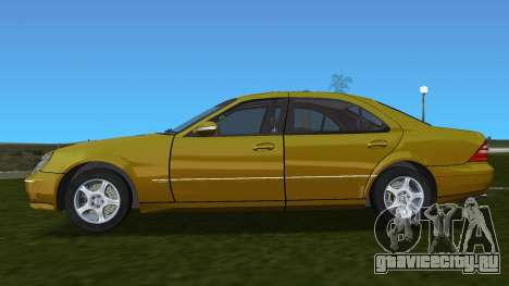 Mercedes-Benz S600 W220 для GTA Vice City вид слева