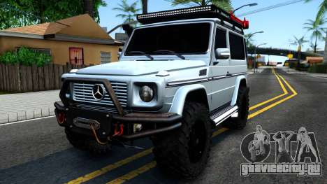Mercedes-Benz G500 Off-Road Short для GTA San Andreas