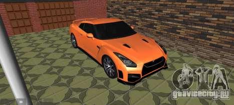 Nissan GT-R 35 Рестайлинг для GTA San Andreas