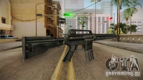 M4 HQ для GTA San Andreas второй скриншот