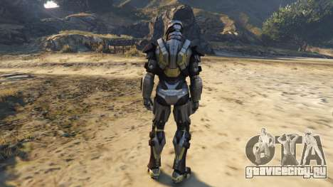 Iron Man Mark 24 Tank для GTA 5 третий скриншот