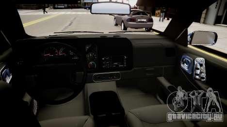 Dodge Durango 1998 для GTA 4 вид изнутри