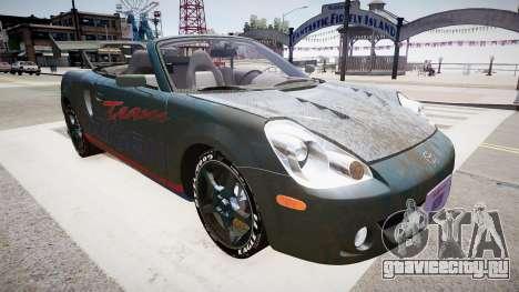 Toyota MRS2 для GTA 4