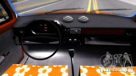 Zastava 1100p для GTA San Andreas вид изнутри