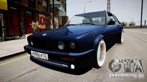 BMW E30 325i 1989 Cabrio для GTA 4