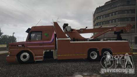 Scania 113H Guincho 4x6 Funcional